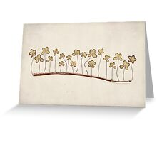 Lucky Stick Greeting Card
