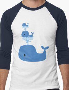 Whales Whales Whales Men's Baseball ¾ T-Shirt