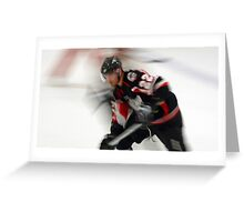 Hockey at the Speed of Light Greeting Card