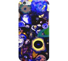 3D Inter-Galactic Worlds Comic iPhone Case/Skin