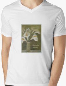 Calla Lilies Birthday Wishes T-Shirt