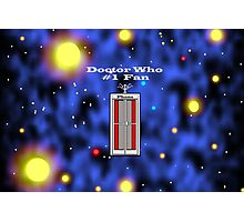 # 1 Doctor Who Fan Photographic Print