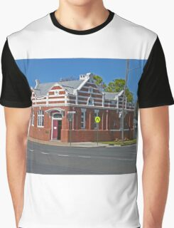 Old Bank Building, Allora, Qld.  Graphic T-Shirt