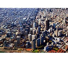 San Francisco Aerial View PLANET eARTh Photographic Print
