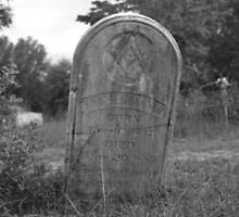Cemetery Stone by MonsterRot
