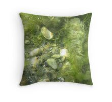 Underwater Vegetation 511 Throw Pillow