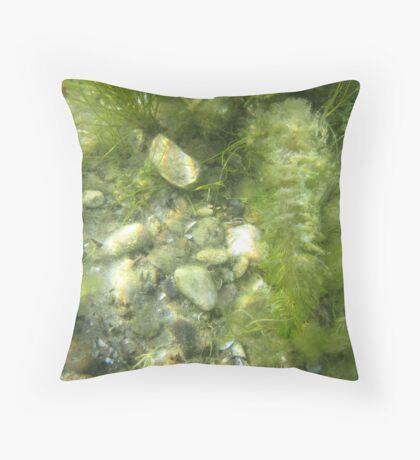 Underwater Vegetation 511 Throw Pillow