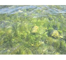 Rippled Water Photographic Print
