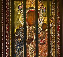 """Our Lady of Częstochowa  """"the Black Madonna""""  as Queen and Protector of Poland . by © Andrzej Goszcz,M.D. Ph.D"""