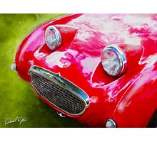 Austin Healey Bugeye Photographic Print