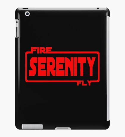 Firefly wars iPad Case/Skin