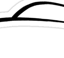 Porsche 356 Swash Design Sticker