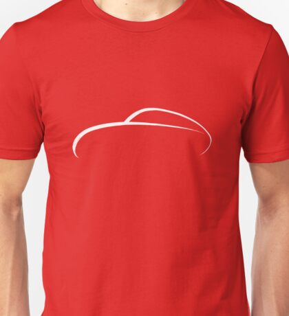 Porsche 356 Swash Design White Unisex T-Shirt