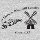 Vintage O Fortuna Windmill Cookies by Morrocandesigns