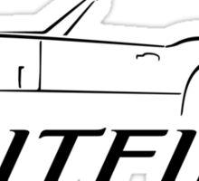 Triumph Spitfire Swash Design Sticker