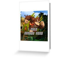 I MAIN DONKEY KONG Greeting Card