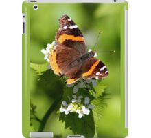 Red Admiral Butterfly Portrait iPad Case/Skin