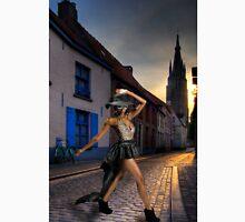 Fashionista Crossing The Street Classic T-Shirt