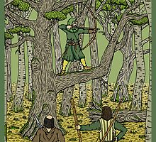Robin in Sherwood by RHFay