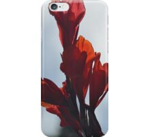 Beautiful red flower iPhone Case/Skin