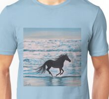 Running free by the Sea Unisex T-Shirt