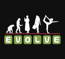 Evolve Yoga T-Shirt Kids Clothes