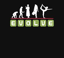 Evolve Yoga T-Shirt Womens Fitted T-Shirt