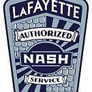 Vintage Nash LaFayette Service Sign Reproduction by JohnOdz