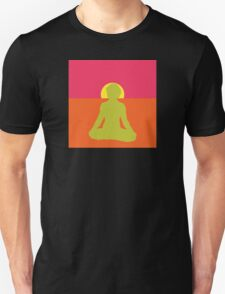 Abstract Yoga T-Shirt T-Shirt