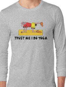 Funny Men's Yoga T-Shirt Long Sleeve T-Shirt