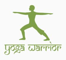 Warrior Pose Yoga T-Shirt Kids Tee