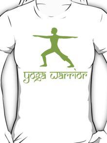 Warrior Pose Yoga T-Shirt T-Shirt