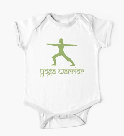 Warrior Pose Yoga T-Shirt One Piece - Short Sleeve
