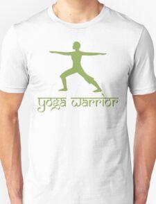Warrior Pose Yoga T-Shirt Unisex T-Shirt