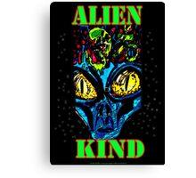 Alien Kind Canvas Print