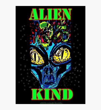 Alien Kind Photographic Print