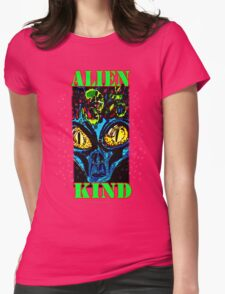 Alien Kind Womens Fitted T-Shirt