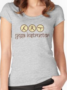 Yoga Instructor T-Shirt Women's Fitted Scoop T-Shirt