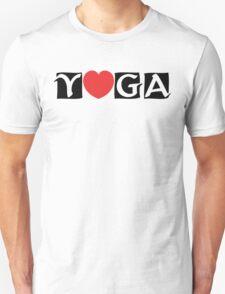 Love Yoga T-Shirt T-Shirt