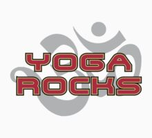 Yoga Rocks T-Shirt Baby Tee