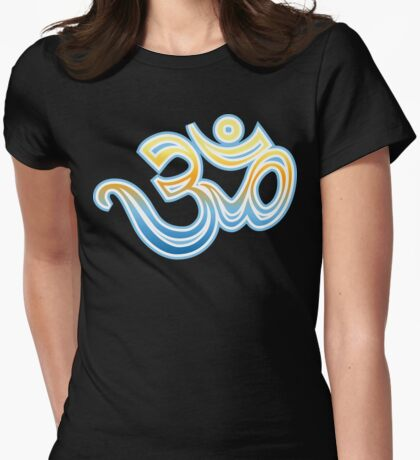 Om T-Shirt Womens Fitted T-Shirt