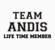 Team ANDIS, life time member by stacigg