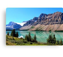 Bow Lake 2012 Canvas Print