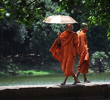 Catwalk Monks by petejsmith