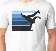 BBOY lines Blu/blk Unisex T-Shirt