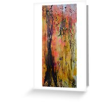Dusk in the Willows Greeting Card
