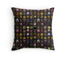 Multiple characters (New set) - Five Nights at Freddy's - Pixel art  Throw Pillow