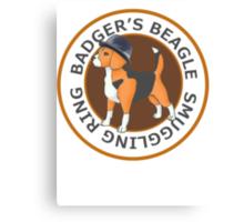 Badger's Beagle Smuggling Ring V2.0 Canvas Print