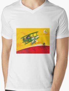 SOPWITHCAMEL AIRPLANE  Mens V-Neck T-Shirt