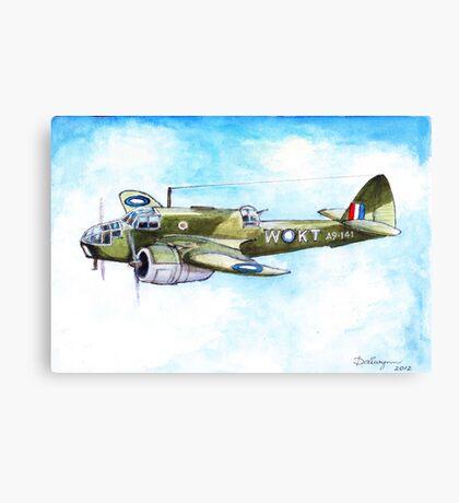 Beaufort Bomber Canvas Print